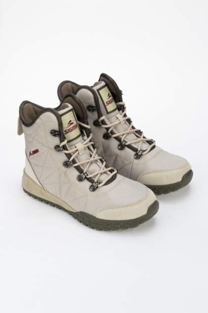 Ботинки женские SIGMA M19335 бежевые 40 RU