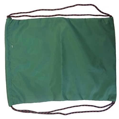 Мешок для обуви детский, цв. зеленый