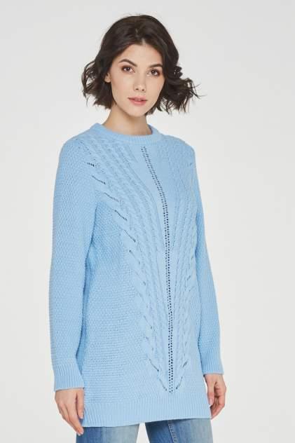 Джемпер женский VAY 192-4860 голубой 56 RU