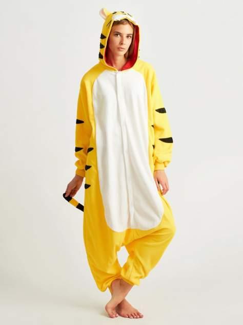Кигуруми BearWear «Тигр» желтый L