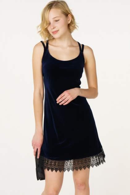 Платье-комбинация женское Fashion.Love.Story. 17FL1185 синее 42 RU