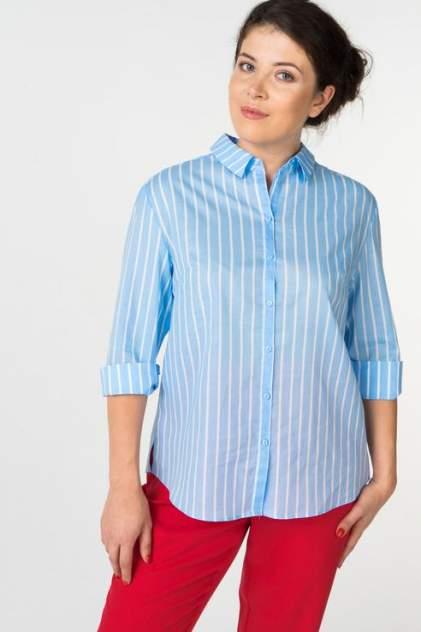 Женская рубашка ZARINA 8225101330041, голубой