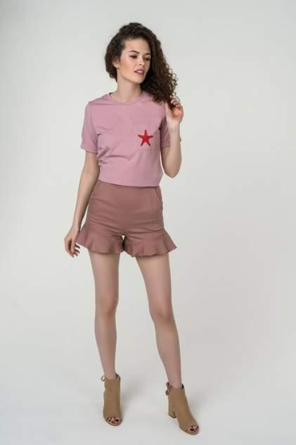 Шорты женские Fashion.Love.Story. 18CR4003 розовые 44 RU