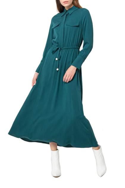Платье женское BGN W20D351 зеленое 38 FR
