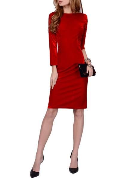 Платье женское FRANCESCA LUCINI F0963 красное 48 RU