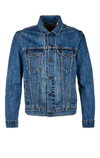 Куртка джинсовая мужская Levi's® синяя 46