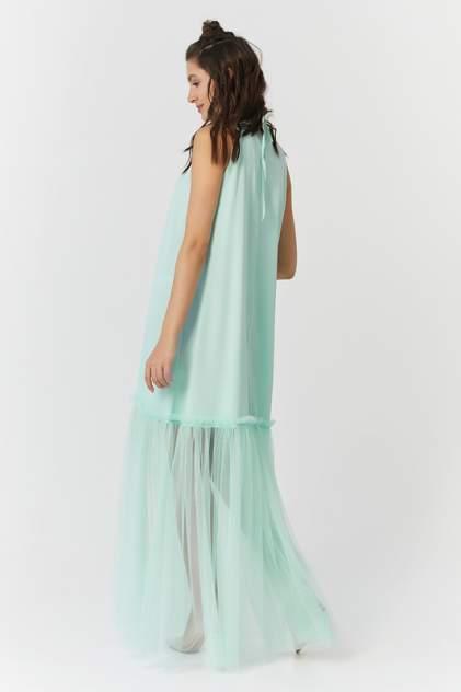 Платье женское Fly 823-15 зеленое 42 RU