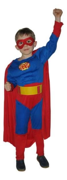 Костюм Snowmen Супермен с мускулатурой 4-6 лет Е70841