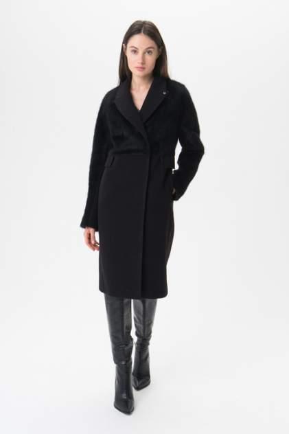 Пальто женское ElectraStyle 4-9008м-128/273 черное 44 RU