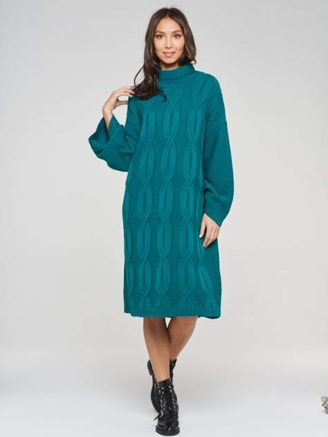Женское платье VAY 202-2430, зеленый