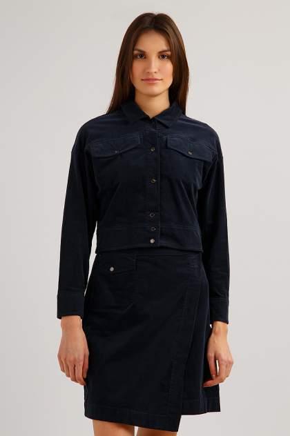 Жакет женский Finn Flare B19-32023 синий XL
