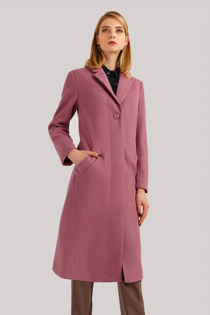 Пальто женское Finn Flare B19-11086 фиолетовое S