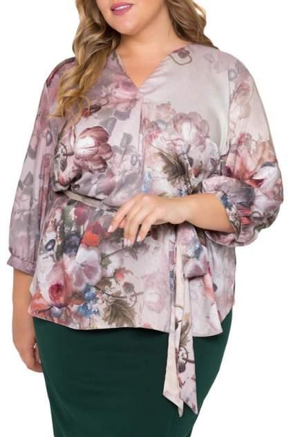 Блуза женская Интикома 218071 розовая 62 RU