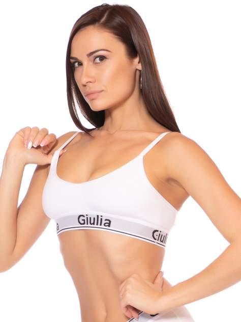 Топ женский Giulia COTTON BRALETT 01 белый L