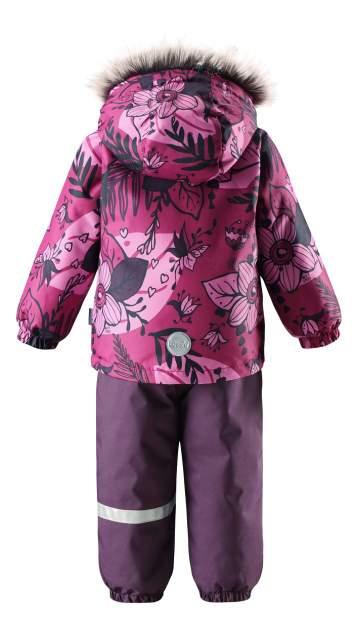 Комплект верхней одежды Lassie, цв. розовый; фиолетовый р. 86