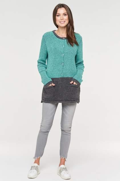 Свитер женский VAY 192-4990 зеленый 48 RU