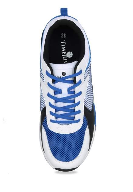 Кроссовки мужские TimeJump 710019328 белые/синие 43 RU