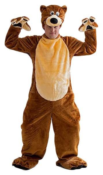 Карнавальный костюм Бока Медведь, цв. коричневый р.180
