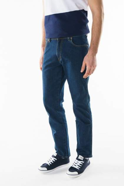 Джинсы мужские Wrangler W12133009 синие 30/34 USA