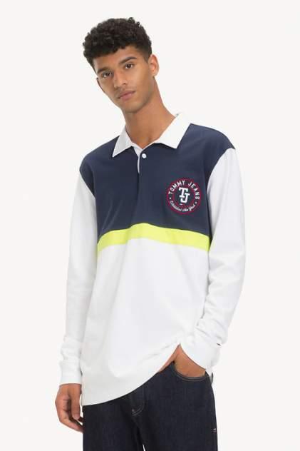 Поло мужское Tommy Jeans DM0DM05908 синее L