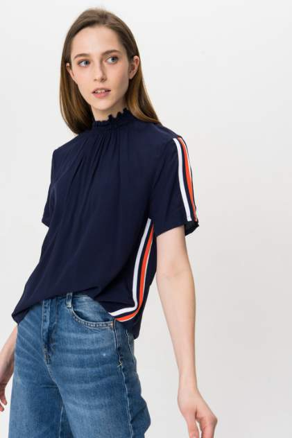Блуза женская Broadway 10158542 синяя M