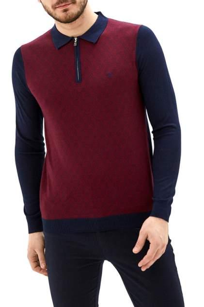 Рубашка мужская La Biali 5107/120 БОРДОВая красная 3XL
