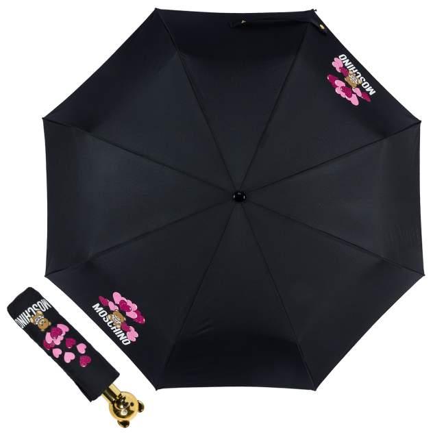 Зонт складной женский автоматический MOSCHINO 8054-OCA черный