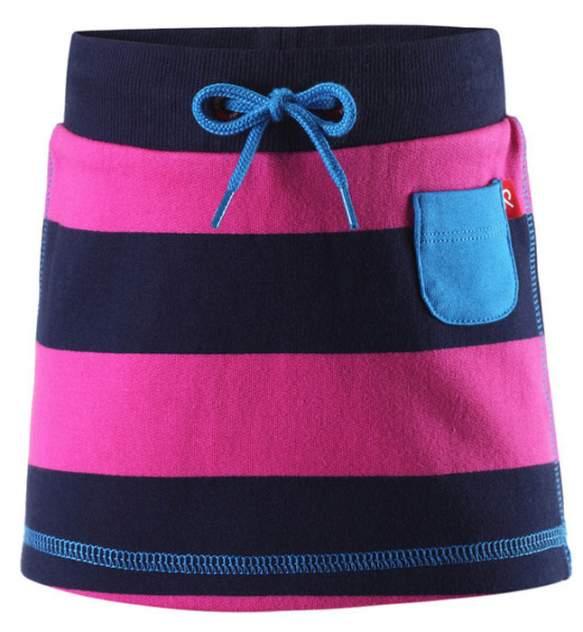Reima kids юбка nisha розовая полоска р.68
