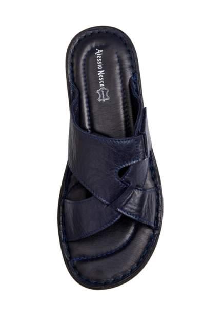 Шлепанцы мужские Alessio Nesca Comfort 710018083 синие 40 RU