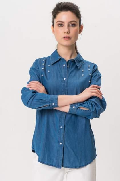 Рубашка женская Blend She 20202729 голубая M
