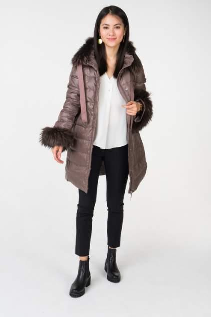 Пуховик-пальто женский Baon B008539 коричневый XL