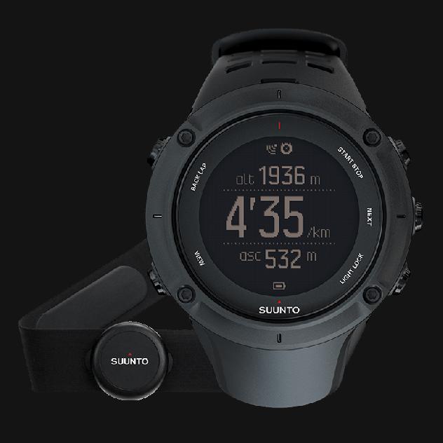 Смарт-часы Suunto Ambit3 Peak HR черные