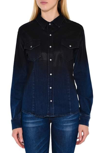 Женская джинсовая рубашка Lauren Vidal BH7214-CARA ДЖИНСОВЫЙ, синий