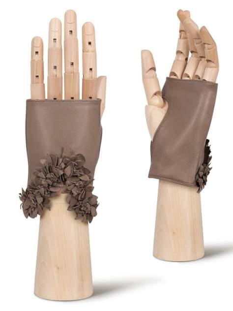 Митенки женские Eleganzza F-0250 коричневые 7