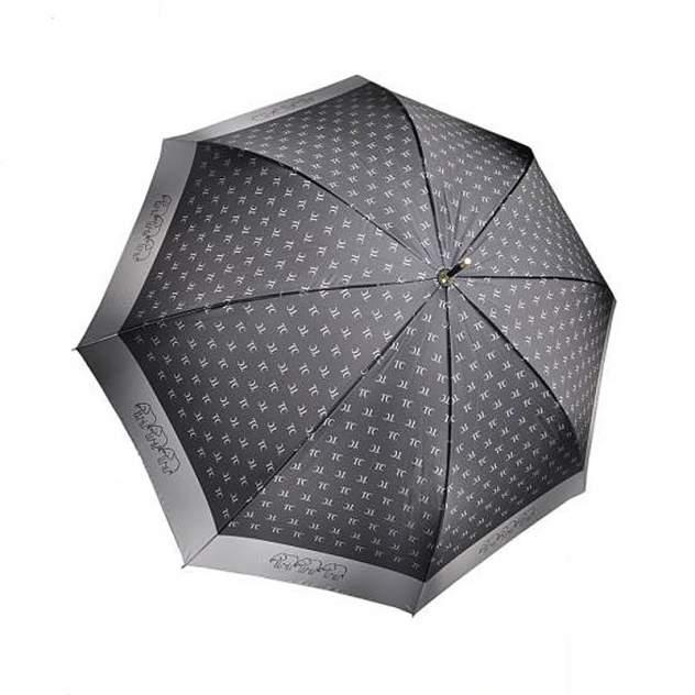 Зонт-трость женский полуавтоматический Три Слона 2888-01 черный