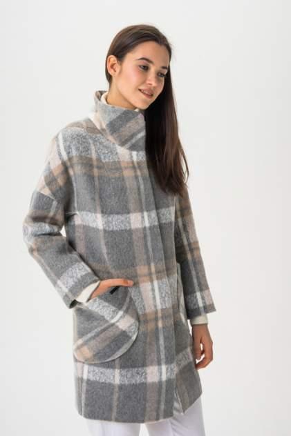 Пальто женское ElectraStyle 3-7007/4-282 серое 48 RU