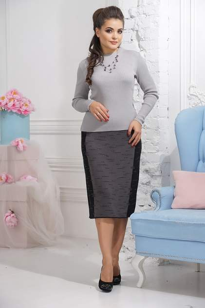 Женская юбка VAY 5026, серый