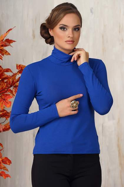 Водолазка женская VAY 0220 синяя 52 RU