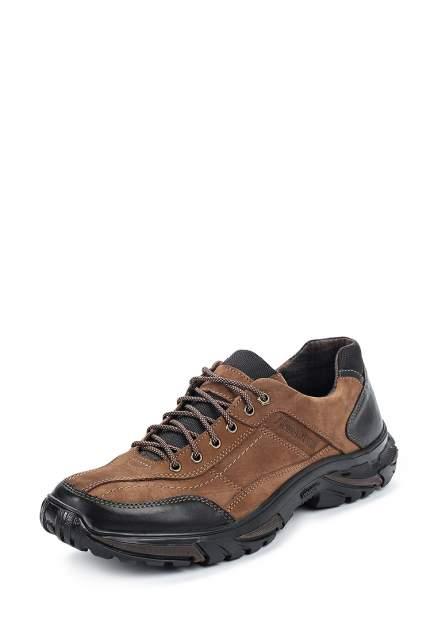 Полуботинки мужские Alessio Nesca 02907930 коричневые 43 RU
