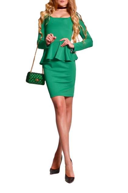 Платье женское FRANCESCA LUCINI F0554-1 зеленое 42 RU
