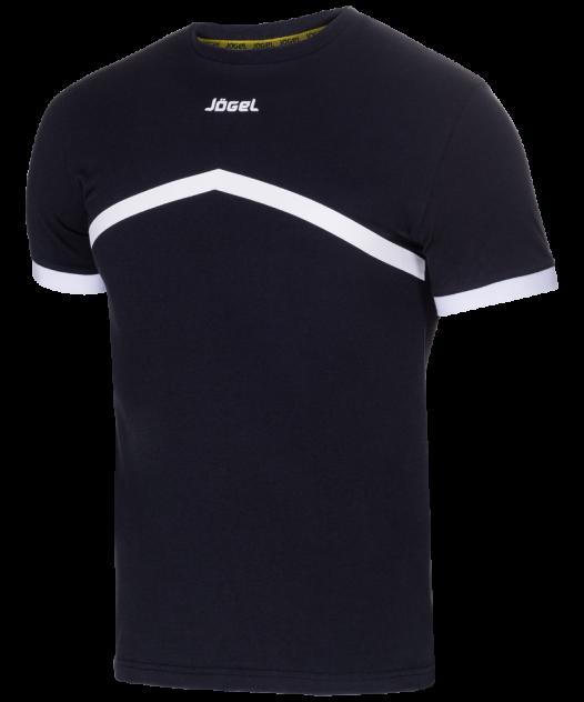 Футболка Jogel JCT-1040-061, черный/белый, S INT