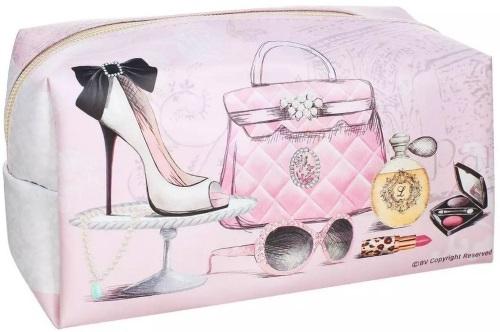 Косметичка женская MAGIC HOME 37690 розовая
