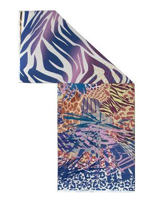 Палантин женский Eleganzza FA34-0657 синий
