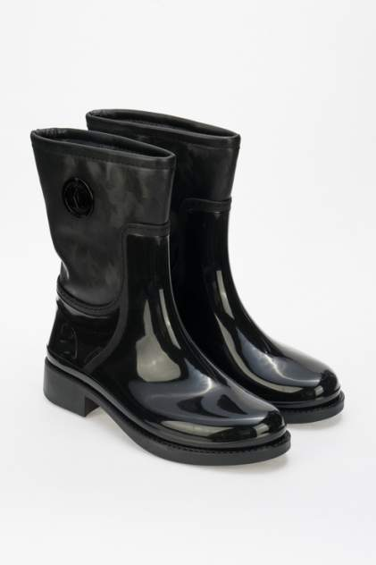 Резиновые сапоги женские Keddo 898369/01 черные 38 RU