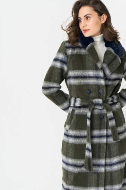 Пальто женское ICHI 20109553 зеленое 36 EU