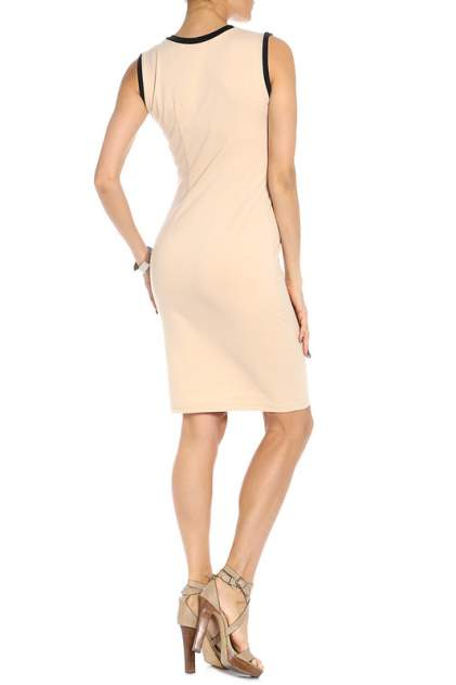 Платье женское Adzhedo 40936 бежевое XL