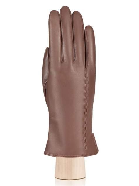 Перчатки женские Eleganzza IS7001 коричневые 7.5