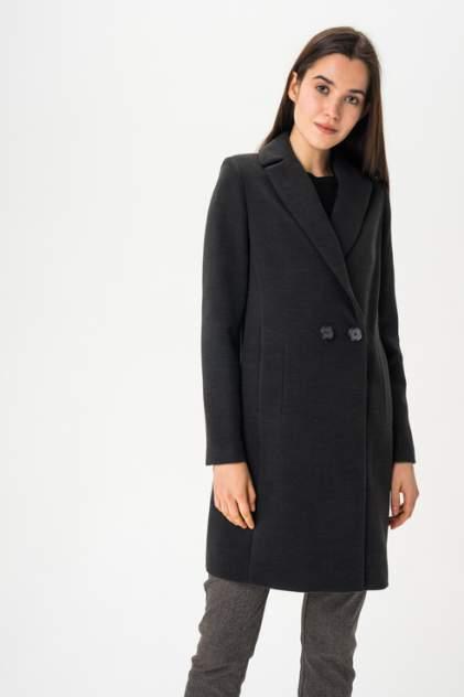 Пальто женское ElectraStyle 3-6061-128 черное 48 RU