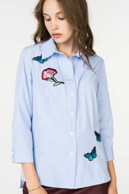 Женская рубашка Stella Di Mare Dress 705-18, голубой