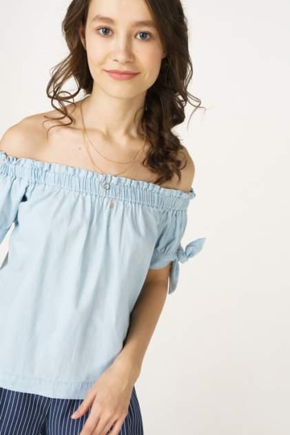 Женская блуза Baon B198024, голубой